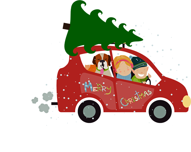 Image result for christmas tree farm cartoon